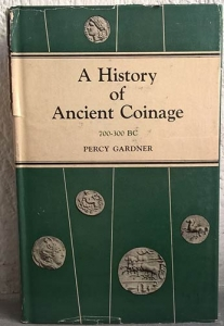 obverse: GARDNER P. – A history of Ancient coins (700-300 B C). New Delhi, 1975, pp. 463, tavv. 11
