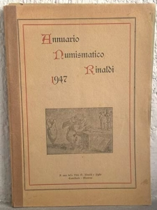 obverse: AA. VV. – Annuario numismatico Rinaldi. 1947. Casteldario (Mn), 1947. pp. 95, ill.