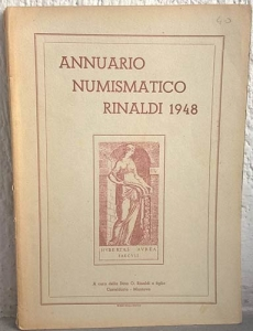 obverse: AA. VV. – Annuario numismatico Rinaldi. 1948. Casteldario (Mn), 1948. pp. 139, ill.
