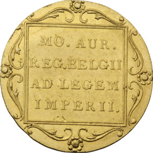 PAESI BASSI. Guglielmo II (1840-49). Ducato 1841 (Lily). Fr.338. AU.