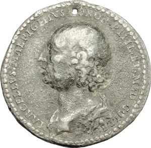 obverse: Bologna.  Marcello Malpighi (1628,Crevalcore - 1694, Roma), medico e filosofo.. Medaglia celebrativa 1693