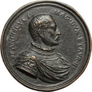 obverse: Firenze.  Francesco I de  Medici (1541 - 1587).. Medaglia s.d