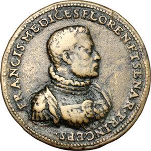 obverse: Firenze.  Francesco I (1574-1587). Medaglia 1564