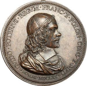 obverse: Roma.  Guido Poterio (medico). Medaglia 1665