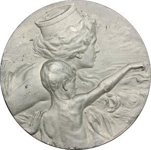 obverse: Veneto. Medaglia omaggio ai caduti del 1900, a ricordo della Spedizione di Luigi Amedeo di Savoia-Aosta al Polo Nord