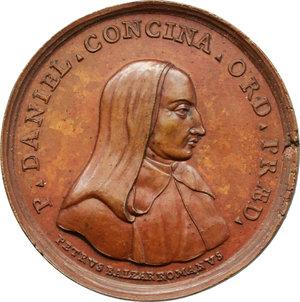 obverse: Venezia.  Daniele Concina (1687-1756), teologo.. Medaglia ultimo quarto XVIII secolo (1789)