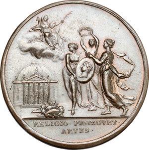 reverse: Venezia. Medaglia 1773, per le opere di B. Galliari in Sant Edvige a Berlino