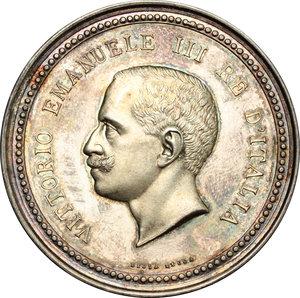 obverse: Vittorio Emanuele III (1900-1943). Medaglia Premio d onore. Ministero d agricoltura, industria e commercio