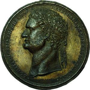 obverse: Domiziano (81-96). Placchetta unifacie, prima metà del XVIII secolo