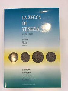 obverse: PAOLUCCI, Raffaele. La zecca di Venezia. Volume secondo. Raffaele Paolucci Editore, Padova, 1991.   pp. 243, ill. n.t