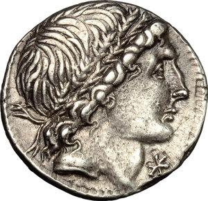 obverse: L. Memmius.. AR Denarius, 109-108 BC