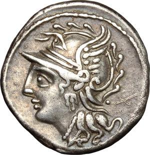 obverse: C. Coelius Caldus. . AR Denarius, 104 BC