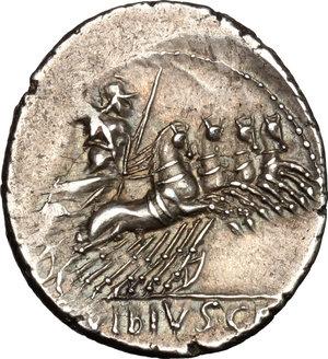 reverse: C. Vibius C.f. Pansa. AR Denarius, circa 90 BC