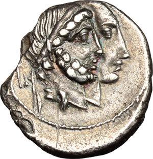 obverse: C. Censorinus.. AR Denarius, 88 BC