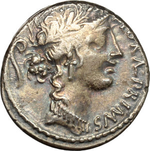 obverse: C. Servilius C.f.. AR Denarius, 57 BC