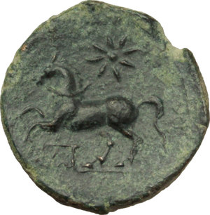 Reverse image of coin 25