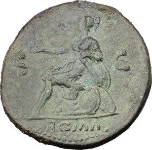 reverse: Nero (54-68).. AE Sestertius