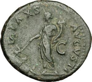reverse: Galba (68-69).. AE As, Rome mint
