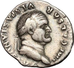 obverse: Vespasian (69-79). . AR Denarius