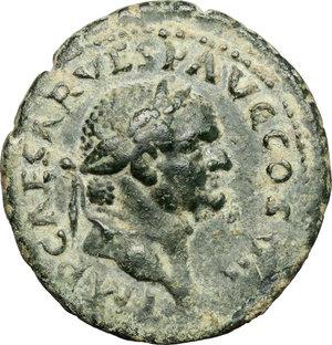 obverse: Vespasian (69-79).. AE As, 76 AD
