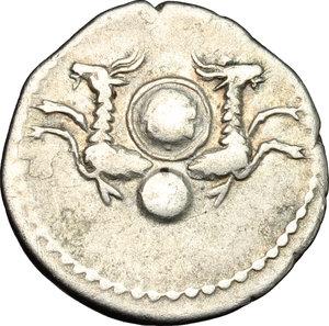 reverse: Vespasian (69-79).. AR Denarius, struck under Titus, 80-81 AD