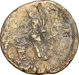 reverse: Titus (79-81).. AE Sestertius, 80 AD