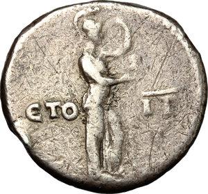 reverse: Domitian (81-96).. AR Didrachm, Caesarea mint, Cappadocia. RY 13= 93-94 AD