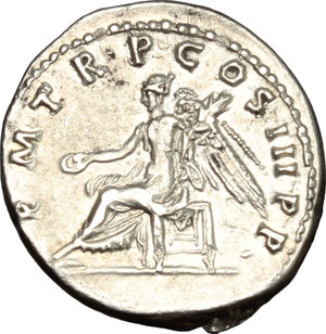 reverse: Trajan (98-117).. AR Denarius, 100 AD