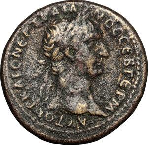 obverse: Trajan (98-117).. AE 27 mm. Koinon of Syria, 98-99 AD