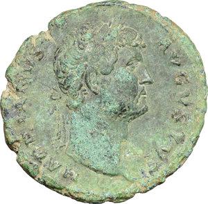obverse: Hadrian (117-138).. AE As, 125-128 AD