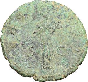 reverse: Hadrian (117-138).. AE As, 125-128 AD