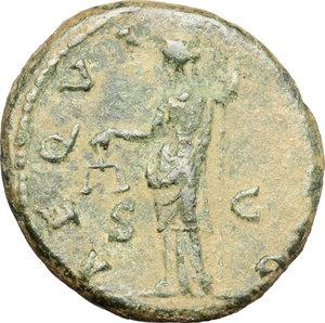 reverse: Hadrian (117-138).. AE As, 134-138 AD