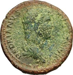 obverse: Hadrian (117-138).. AE Sestertius