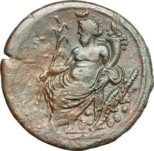 reverse: Hadrian (117-138).. AE Drachm, Alexandria mint, Egypt