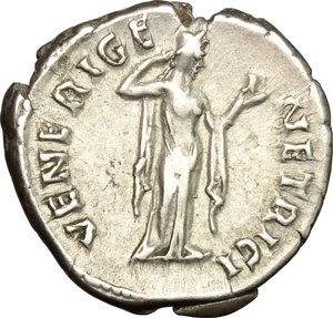 reverse: Sabina, wife of Hadrian (died 137 AD).. AR Denarius, c. 134-136 AD