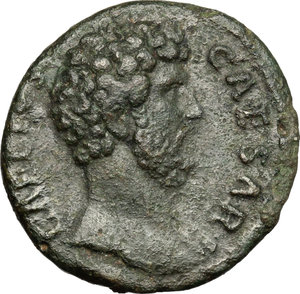 obverse: Aelius (Caesar 136-138).. AE As, Rome mint