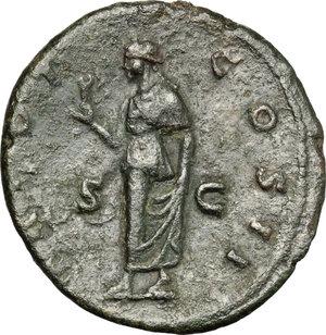 reverse: Aelius (Caesar 136-138).. AE As, Rome mint