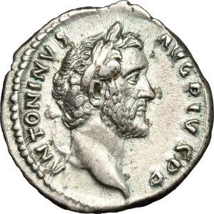 obverse: Antoninus Pius (138-161).. AR Denarius, 140-143