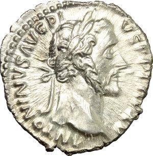 obverse: Antoninus Pius (138-161).. AR Denarius, 151-152 AD
