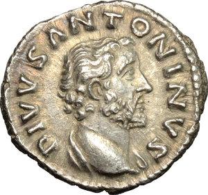 obverse: Antoninus Pius (138-161).. AR Denarius, after 161 AD