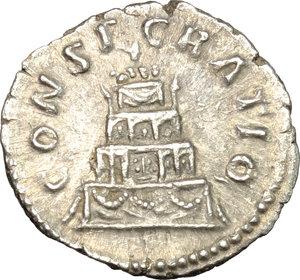 reverse: Antoninus Pius (138-161).. AR Denarius, after 161 AD