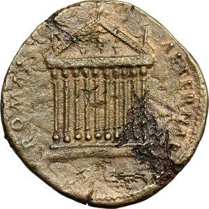reverse: Antoninus Pius (138-161). AE Sestertius, 140-144 AD