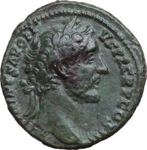obverse: Antoninus Pius (138-161).. AE As, 140-144