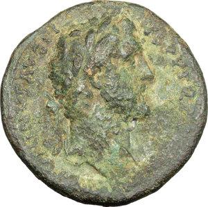 obverse: Antoninus Pius (138-161).. AE Sestertius, c.143-144 AD