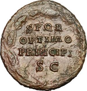 reverse: Antoninus Pius (138-161).. AE As, 145-161 AD
