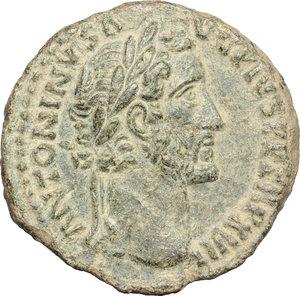 obverse: Antoninus Pius (138-161).. AE As, 153-154 AD