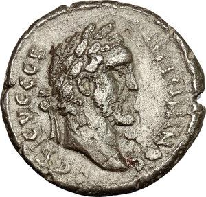 obverse: Antoninus Pius (138-161).. BI Tetradrachm, Alexandria mint. RY8= 144-145 AD