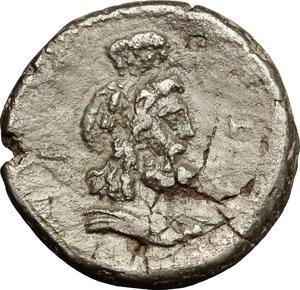 reverse: Antoninus Pius (138-161).. BI Tetradrachm, Alexandria mint. RY8= 144-145 AD