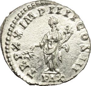 reverse: Marcus Aurelius (161-180).. AR Denarius, 166 AD