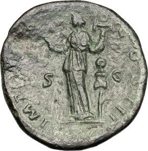 reverse: Marcus Aurelius (161-180).. AE Sestertius, 174-175 AD